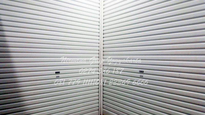 pintu rolling door one sheet