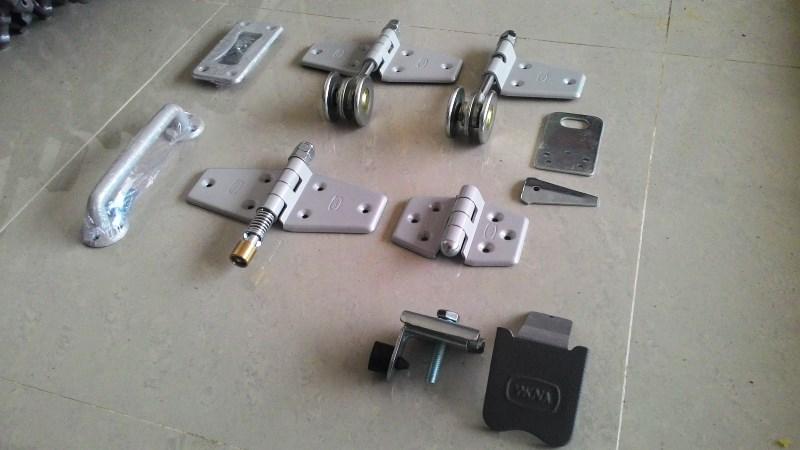 komponen rel pintu besi