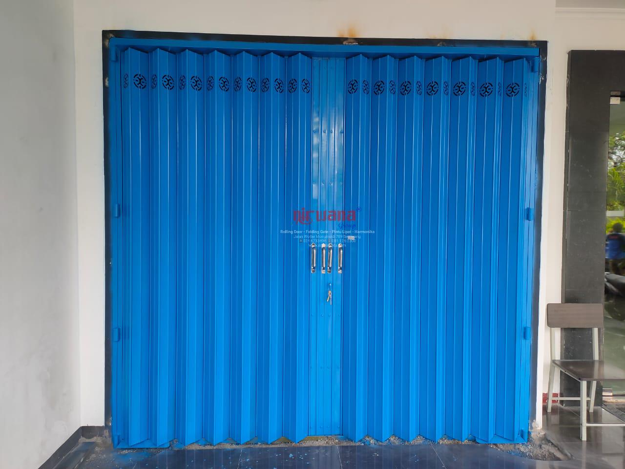 Pemasangan-Pintu-Harmonika-Rasional-B-di-Bank-BKE-Jl-A.Yani-Semarang-Jawa-Tengah