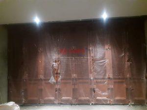 Pintu Lipat Premium Telah Selesai Terpasang Di Kudus, Jawa Tengah.